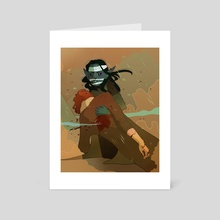 Nott the Brave - Art Card by Oak Antony