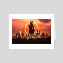 Malaysia  - Another side of the story - Art Card by Tales of Arts