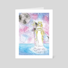 Sailor Moon  - Art Card by s_deolive