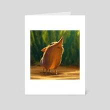 Sengi - Art Card by Lynn Chen