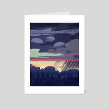 Windowview Deux - Art Card by Tristan Chace