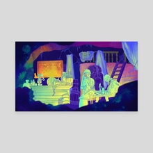 Dead Men Tell No Tales  - Canvas by Abby Wallock