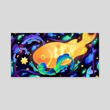 Starry Seas - Canvas by Anush Banush