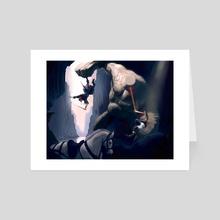 Golem - Art Card by Tom Cech