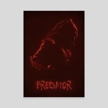 Predator - Canvas by Ryan Ripley