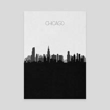 Chicago (2nd Version) - Canvas by Deniz Akerman