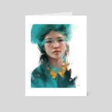 Something Green - Art Card by Jonas Åkerlund
