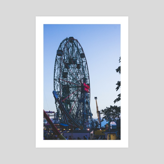Wonder Wheel by Mark Mis