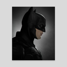 The Batman (Portrait) - Canvas by Mizuri