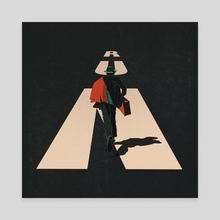 RUN - Canvas by Nanka Baghaturia