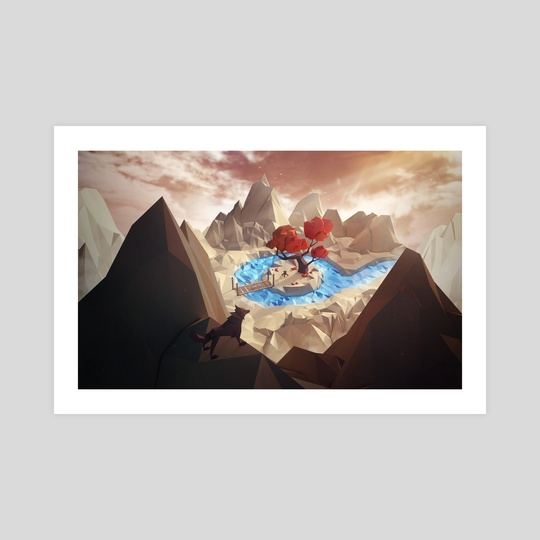 The Hidden Camp - Sunset by Jonathan Lam