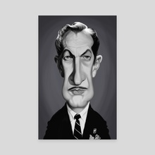 Vincent Price - Canvas by Rob Snow