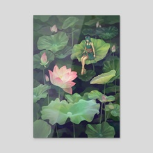 Bloom - Acrylic by shizumii