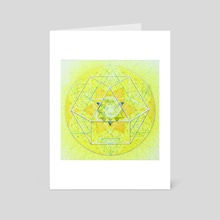 Estructura del Vacio Nro 9 - Art Card by Andres Toledo Margalef