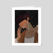 taehyung - singularity - Art Card by Meredith Quin