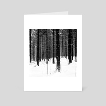 Forest. - Art Card by Aleksei Fedotov