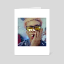 RUN: Namjoon - Art Card by Tiffany Nguyen