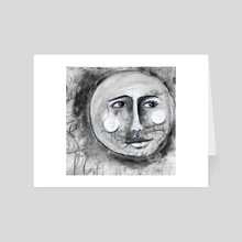 Sadies Moon - Art Card by Maureen Nadeau