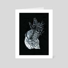 Grasp life - Art Card by Kate Blagodatskikh