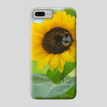 Sunflower Treats - Phone Case by Kate Cusick