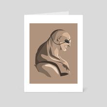 Sagat - Art Card by Kode Subject