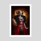 Harley Quinn - Art Print by Sebastian Ciaffaglione