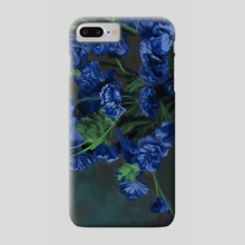 Carnations - Phone Case by Jarred Davis