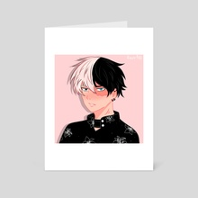 Todoroki - Art Card by Kassie Arts