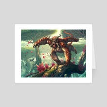 Daunting Attack - Art Card by Alexandre Honoré
