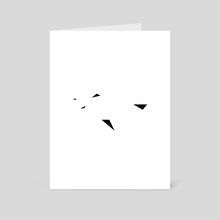 n.003, Often Minimal - Art Card by Memory Coco