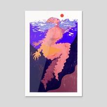 Float - Acrylic by Islenia Mil