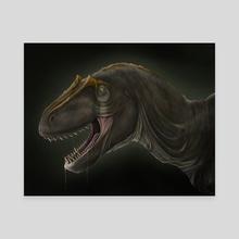 Allosaurus Fragilis - Canvas by ttorroo