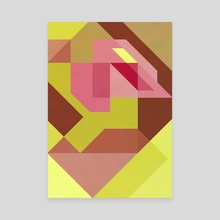 Abstract geometric I - Canvas by e Drawings38