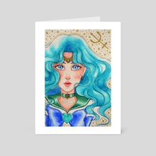 Sailor Neptune - Art Card by Meowale Art