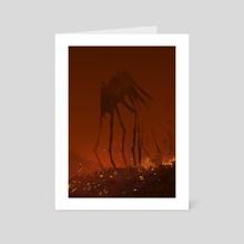 Parasite #1  - Art Card by Maxime Gabier