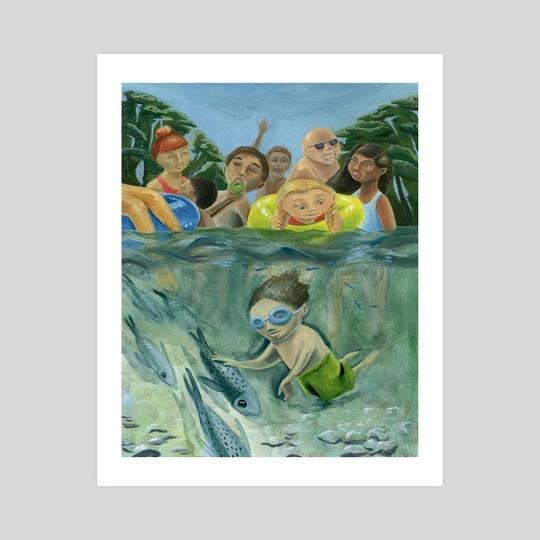 Summer River by Stephanie Gobby