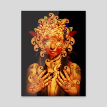 Mistic - Acrylic by Marco Escobedo