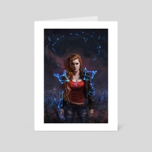 Hologram Armor - Art Card by Ken McCuen