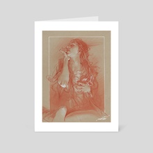 Robe - Art Card by james martin