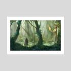 Forest - Art Print by sara meseguer solano