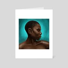 African Women - Art Card by Anastasja Andrejas