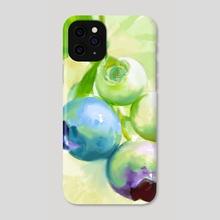 Blueberries - Phone Case by Jovan Maletic