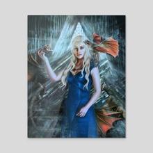 Daenerys - Acrylic by R O