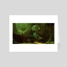 Encounter Series 1: MorZul The Unpleasant - Art Card by Murdok X