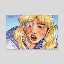 Sailor Joon - Acrylic by Alleria Faraway
