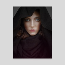 Enigma - Canvas by Natalia Yankelevich