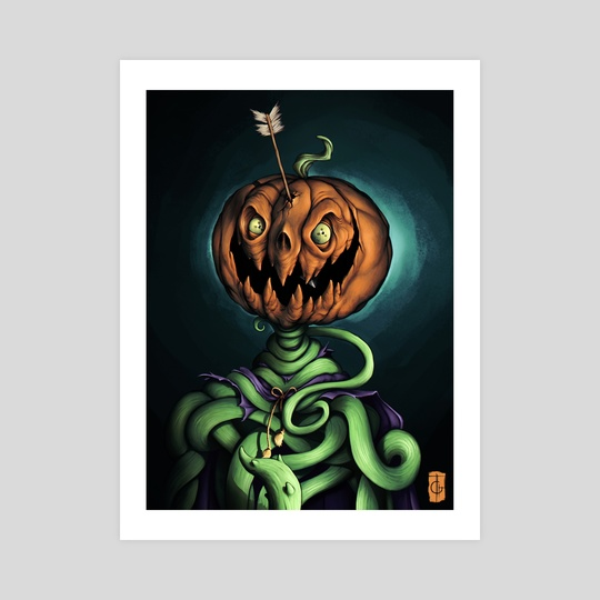 Mad Pumpkin  by Rodney  Amirebrahimi