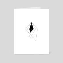 n.102, Often Minimal - Art Card by Memory Coco