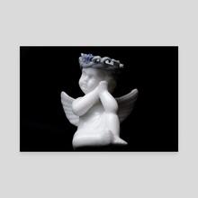 lost cherub - Canvas by Courtney Jane