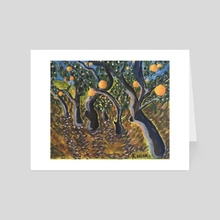 Orange Grove - Art Card by Kaelee Helms